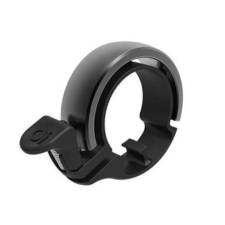 KNOG Oi Classic Large Bicycle Bell, 23.8 - 31.8mm, black