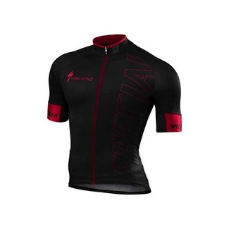 Specialized SPECIALIZED SL PRO JERSEY SS BLK/RED TEAM XXL