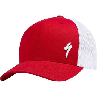 Specialized SPECIALIZED PODIUM HAT TRAD FIT RED/WHT S/M ONESIZE