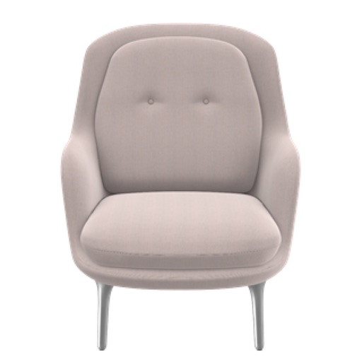 JH4 FRI 粉紅色扶手椅
