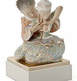 FINE PORCELAIN FIGURE INSPIRE BY FAIRY TALE