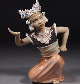 BALINESE DANCER FIGURE 巴里舞者人像