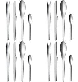 AJ 不锈钢餐具套裝 (16件)
