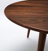 CH008 THREE-LEGGED COFFEE TABLE IN SOLID WALNUT (DISPLAY)