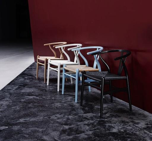 CH24榉木叉骨餐椅