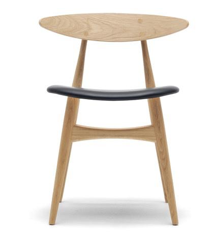 CH33P实心橡木餐椅