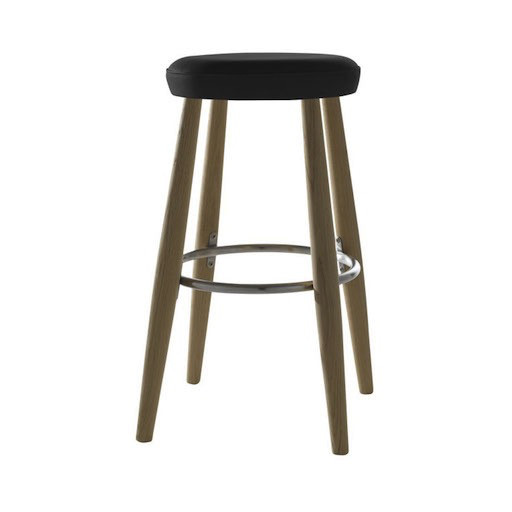 CH56 HIGH STOOL IN SOLID OAK (DISPLAY)