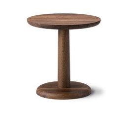 1290 PON 煙薰橡木圓咖啡桌