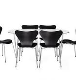 3107 黑色皮革椅子
