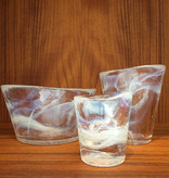 MINE BOWLS 矿碗连白色漩涡玻璃杯