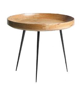 MANGO BOWL LARGE TABLE, NATURAL MANGO WOOD FINISH
