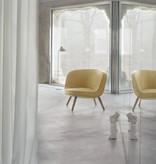 VIA57™ 米黃色布質单边扶手椅