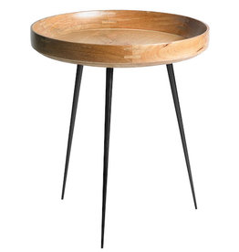 MANGO BOWL MEDIUM TABLE, NATURAL MANGO WOOD FINISH