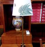 1065-20 + 1000 台灯連COHIBA/STENSÖTA 绿白色连灯罩