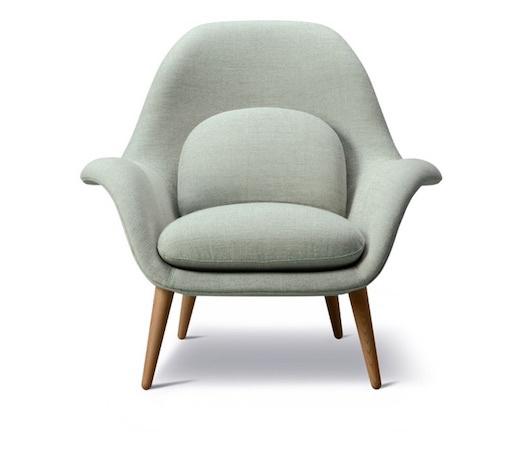 1770 SWOON 布质休闲椅