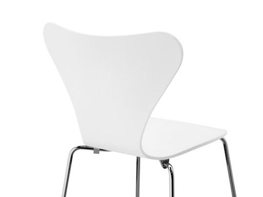 3107 白色漆面椅子