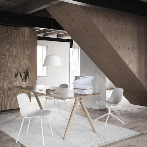 SPLIT 实木橡木桌子