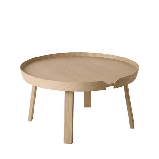 AROUND 橡木大咖啡桌