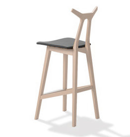 1842 NARA BARSTOOL IN LEATHER