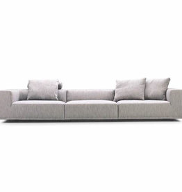 BASELINE 3 SEATER SOFA, UPHOLSTERED IN #46 MUMBAI FABRIC