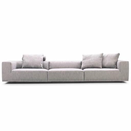 BASELINE 三坐位布质沙发