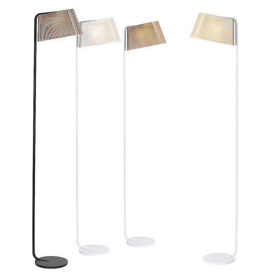 OWALO 7010 FLOOR LAMP IN BLACK