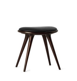 ETHICAL深色染色榉木矮凳