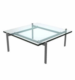 (DISPLAY) PK61 COFFEE TABLE IN GLASS TOP