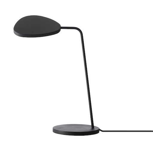 LEAF TABLE LAMP IN BLACK
