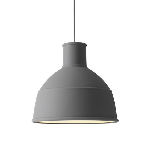 UNFOLD PENDANT LAMP IN DARK GREY COLOUR