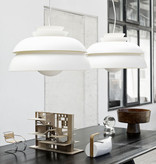 CONCERT P3 PENDANT LIGHT IN WHITE LACQUERED SHADES