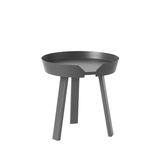 AROUND COFFEE TABLE SMALL IN ANTHRACITE