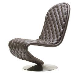 SYSTEM 123 S形的低豪華休閒椅子