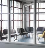 VIA57™ 灰黑色布艺单边扶手椅