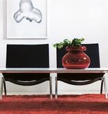 L1500 白色层压板薄咖啡桌