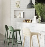 NERD BAR STOOL LACQUERED ASH IN GREY