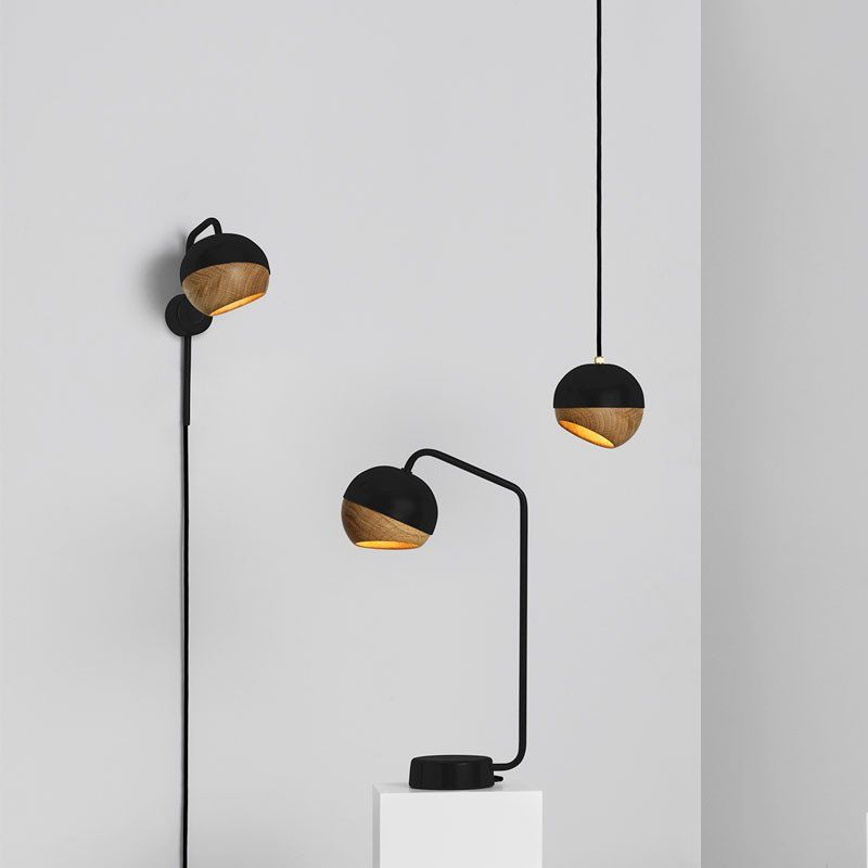 RAY TABLE LAMP IN BLACK