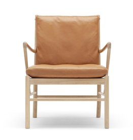 OW149 COLONIAL CHAIR IN SOLID OAK FRAME
