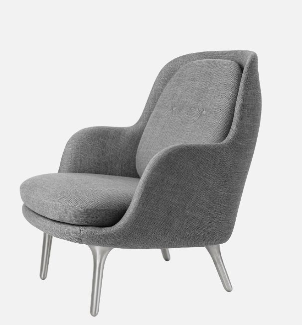JH4 FRI EASY CHAIR IN GREY