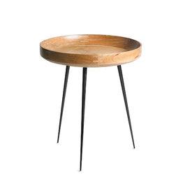 MANGO BOWL SMALL TABLE, NATURAL MANGO WOOD FINISH