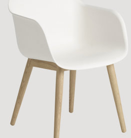 FIBER ARMCHAIR IN NATURAL WHITE COLOUR