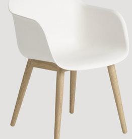 FIBER 天然白色纤维扶手椅