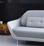 JH3 FAVN 3-SEATER SOFA IN LIGHT GREY