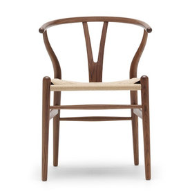 CH24 WISHBONE CHAIR IN SMOKED OAK