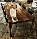 JEPPE UTZON TABLE #1 IN WILD WALNUT SANDWICH