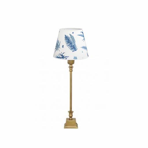 1065-20 + 1000 台灯连COHIBA/STENSÖTA 植物蓝白色灯罩