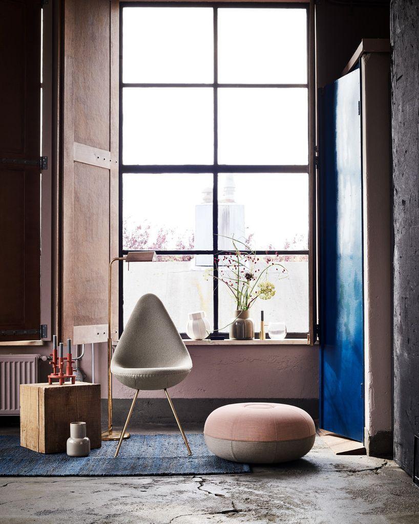 (陳列品) 60週年紀念版 DROP CHAIR 水滴椅