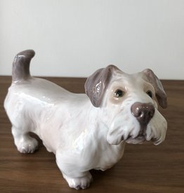 RARE PORCELAIN SEALYHAM TERRIER BY DAHL JENSEN