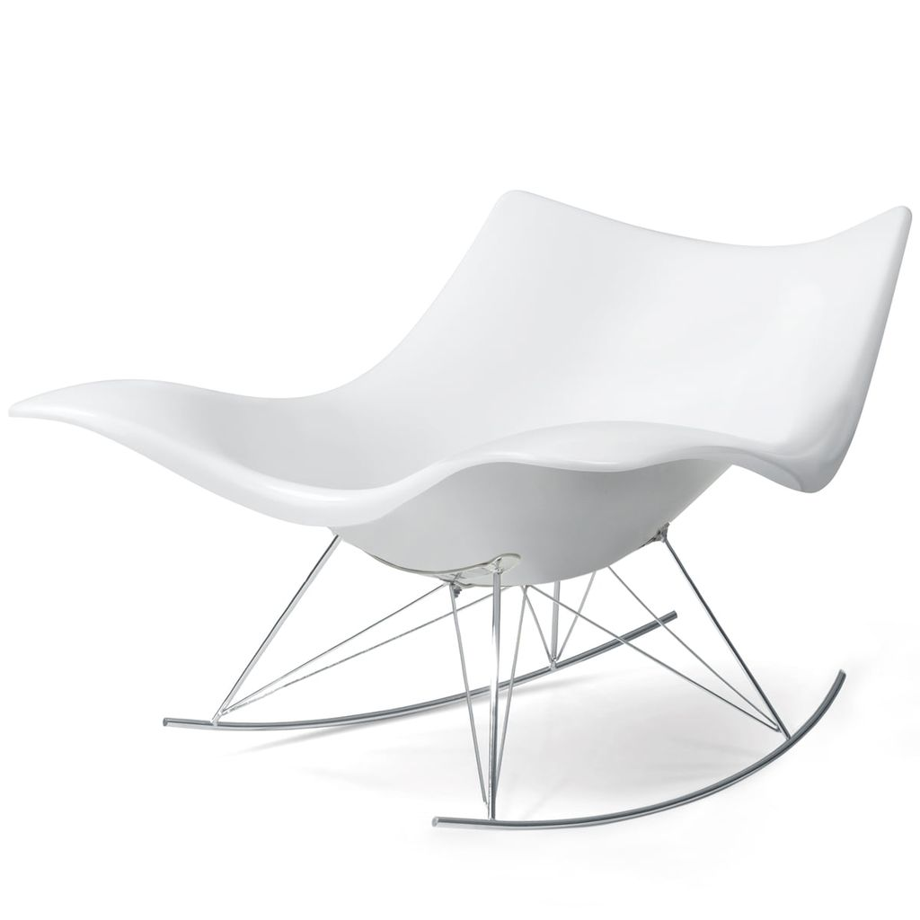 3500 STINGRAY ROCKING CHAIR IN MATT WHITE