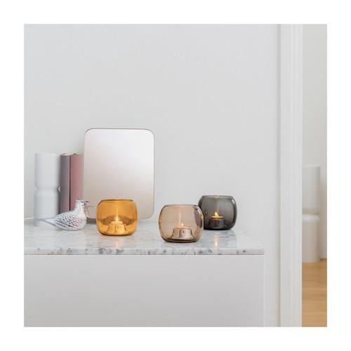 KAASA 灰色小蜡烛烛台